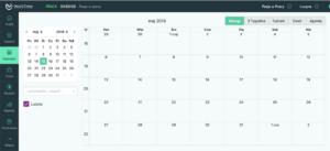 kalendarz w WorkTime