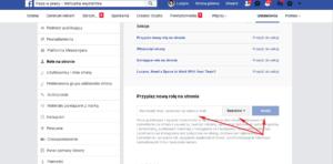 Jak nadać uprawnienia do zarządzania kontem na Facebooku