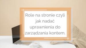 3 300x169 - Role na stronie czyli jak nadać uprawnienia do zarządzania kontem.