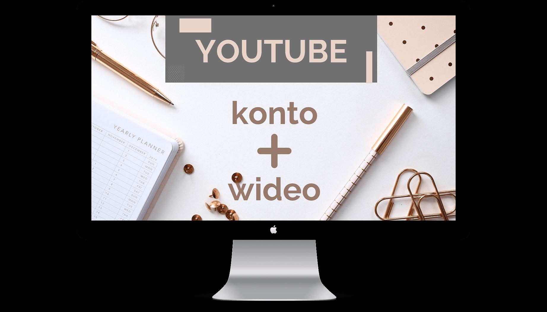 youtube - Start w mediach społecznościowych - pakiet wideo