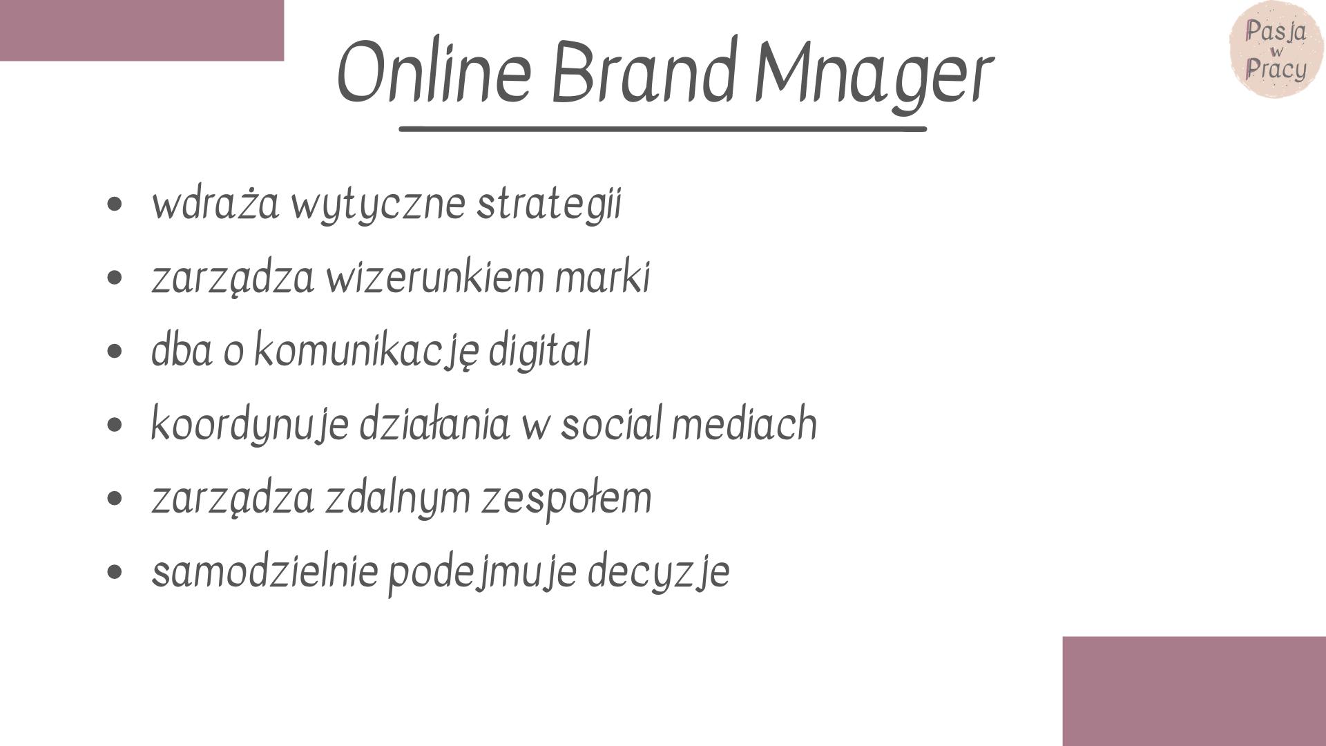 kim jest online brand manager - Kim jest Online Brand Manager