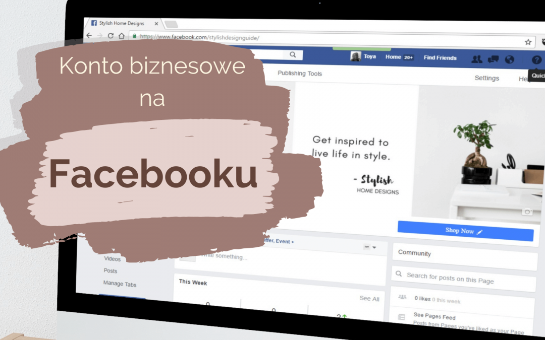 konto biznesowe na Facebooku